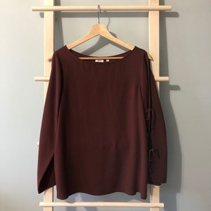 Aritzia pozzi blouse M